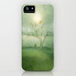 Greenery Sunrise iPhone Case
