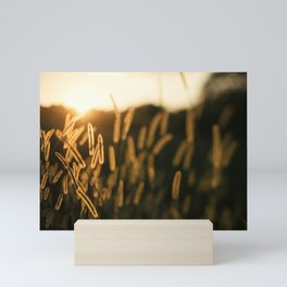 Summer Weeds Mini Art Print