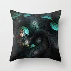 The Alpha Throw Pillow