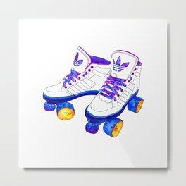 Roller Derby skaters Metal Print