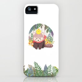 Roo&Pibi in the forest. iPhone Case