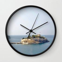 Island of Guvercinada Wall Clock