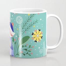 Happy Raccoon Card Coffee Mug