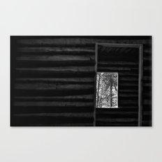 Crooked Doorways and Empty Rooms Canvas Print