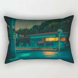 Light in the Dark- Japan Photo Print Rectangular Pillow
