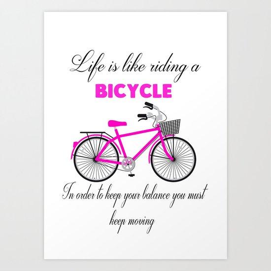 bike print  Art Print