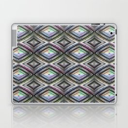 Bright symmetrical rhombus pattern Laptop & iPad Skin