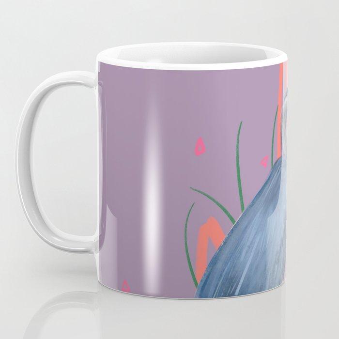 Great blue on the Bayou Coffee Mug