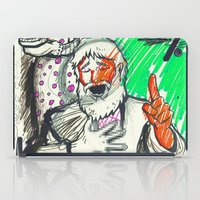 sketch iPad Cases featuring Sketch by Alec Goss