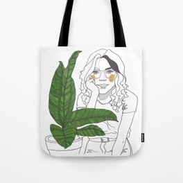 Green Time in the Meantime - 3 Tote Bag
