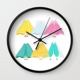 Magic Princess Wall Clock