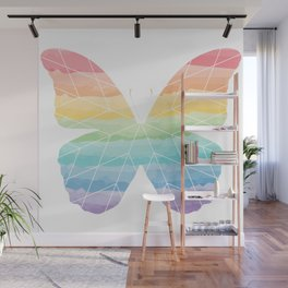 Starblanket Series: Rainbow Butterfly Wall Mural