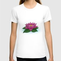 lotus flower T-shirts featuring Lotus by PlanetaryDreamz