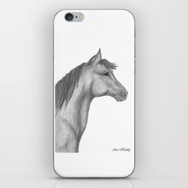 Horse Profile by Ave Hurley iPhone Skin
