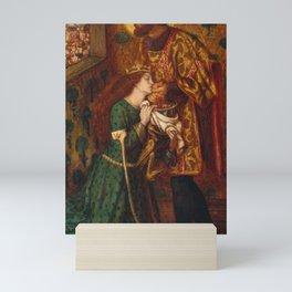 Dante Gabriel Rossetti - St George and Princess Sabra Mini Art Print