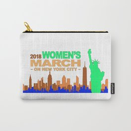Women's March 2018 Carry-All Pouch