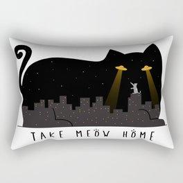Take Meow Home Rectangular Pillow