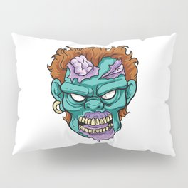 Zombie Horror Undead Gift Pillow Sham