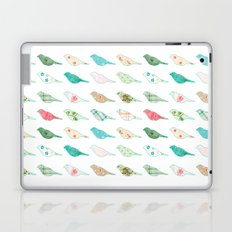 Pastel patterned birds Laptop & iPad Skin