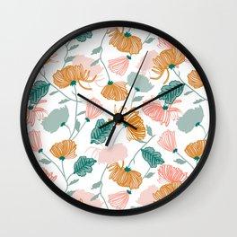 Redamancy #illustration #pattern Wall Clock