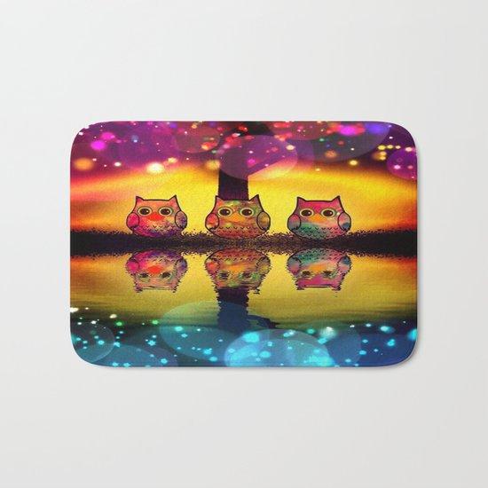 owl-37 Bath Mat