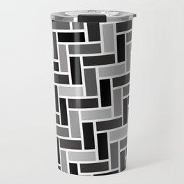 Monochrome Paving Travel Mug