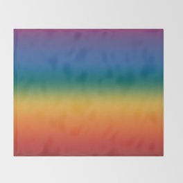 Rainbow 2018 Throw Blanket