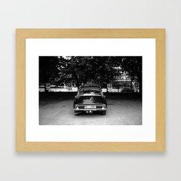 Citroën DS Fantomas Framed Art Print