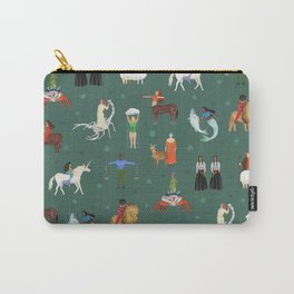 Warrior Women of the Zodiac Carry-All Pouch
