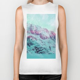 Pastel Magic Mountains Biker Tank