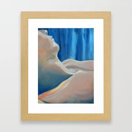 Past Love's Reflection Framed Art Print