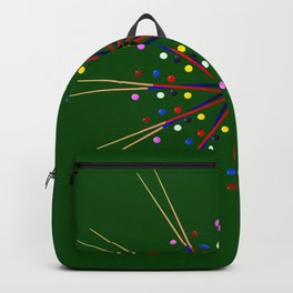 Snooker Cues and Balls Circle Backpack