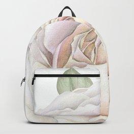 Soft Pink Rose Backpack