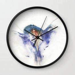 Canon's Vulva Print No.2 Wall Clock