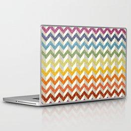 Chevron Rainbow Laptop & iPad Skin