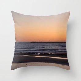 Marina di Ragusa, Sicily Throw Pillow