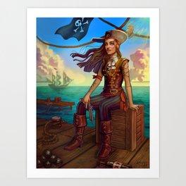 Pirate Commission Art Print