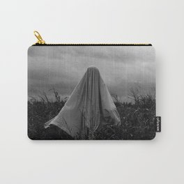 Ghost in the Field - Wide Carry-All Pouch