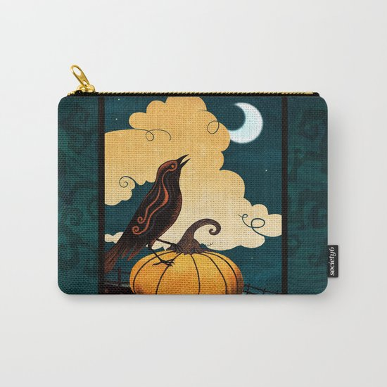 Halloween Is In The Air Carry-All Pouch