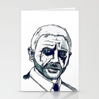 bond Stationery Cards featuring Bond. by Thomas Wright Illustration