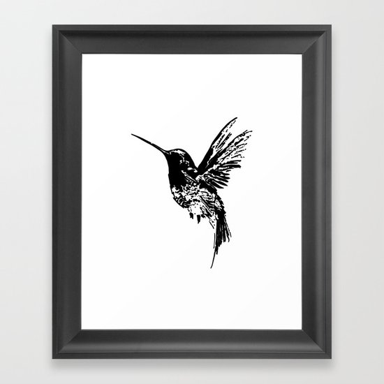 Band white hymmingbird hand- drawn by lillakricia