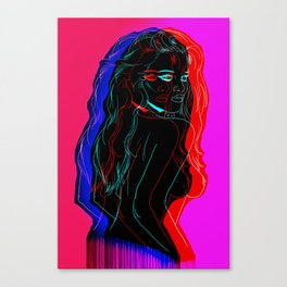 The Neon Demon Canvas Print