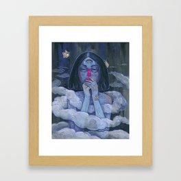 In Threes Framed Art Print