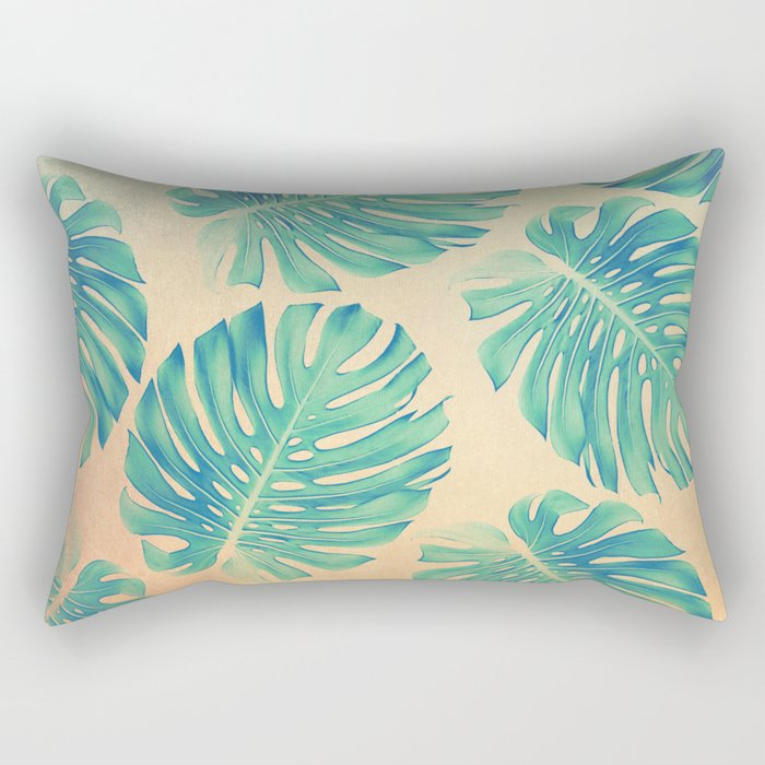 Tropical abstract(2) Rectangular Pillow