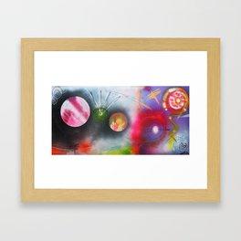 If I Were A Galaxy Framed Art Print