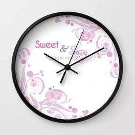 Sweet and Sassy Dental Hygienist Wall Clock