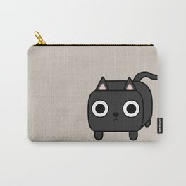 Cat Loaf - Black Kitty Carry-All Pouch