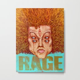 Carrot Top - ArtBattleLA Metal Print