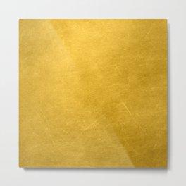 Sunshine Gold Metal Print