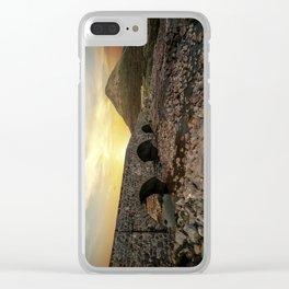 Sligachan Bridge Clear iPhone Case